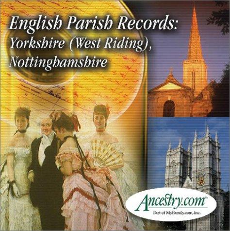 9781931279840: English Parish Records: Yorkshire (West Riding), & Nottinghamshire