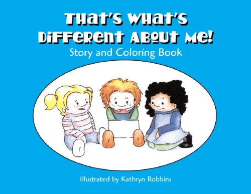 9781931282970: That's What's Different About Me! Story and Coloring Book