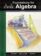 9781931287036: Foundations for Algebra: Year 1 Version 3.0, Complete