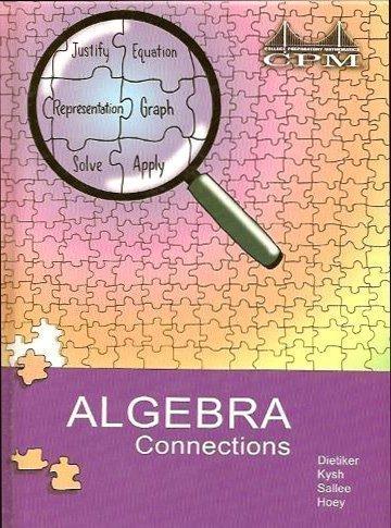 9781931287470: Algebra Connections, Version 3.0