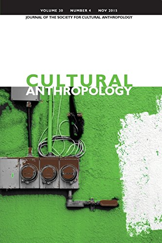 9781931303439: Cultural Anthropology: Journal of the Society for Cultural Anthropology (Volume 30, Number 4, November 2015)