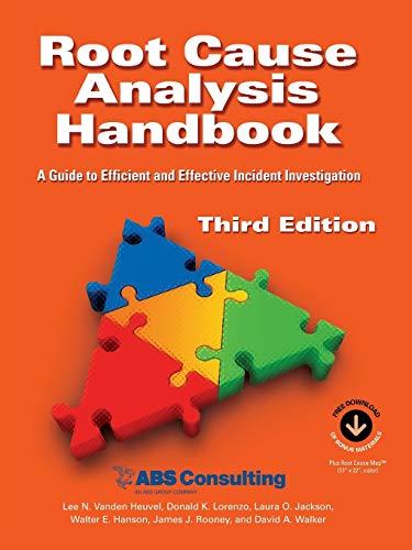 Root Cause Analysis Handbook: A Guide to: Lee N Vanden