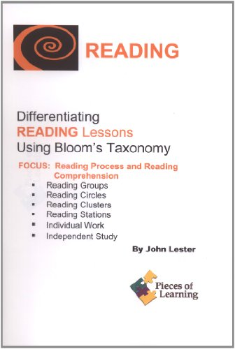 9781931334785: Differentiating Reading Lessons Using Bloom's Taxonomy