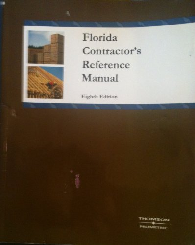 Florida Contractor's Reference Manual (8th ed.): Prometric