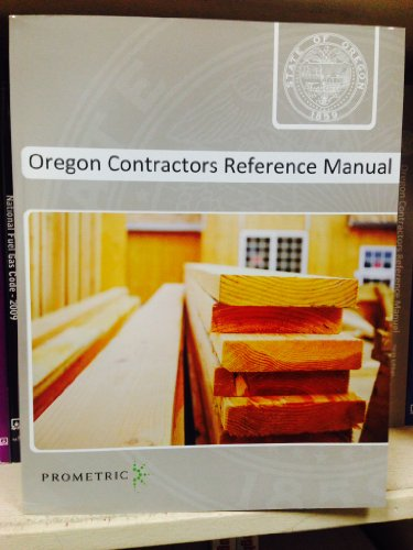 9781931345439: Oregon Contractors Reference Manual