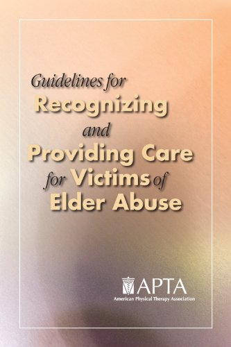 9781931369398: Guidelines for Recognizing and Providing Care for Victims of Elder Abuse