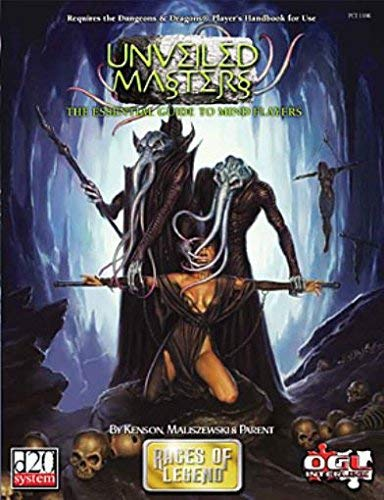 Unveiled Masters: Essential Guide to Mindflayers (Races: Kenson, Steve
