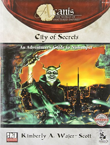 9781931374163: City of Secrets (Arcanis, d20 System, PCI1007))
