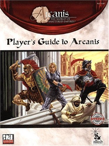 Player's guide to arcanis (1st edition) vg walmart. Com.