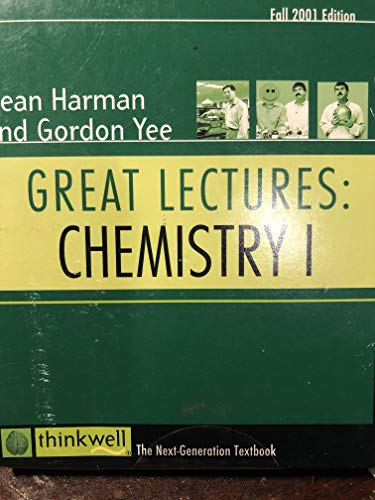 9781931381147: Thinkwell's Great Lectures: Chemistry I (Thinkwell's Great Lectures)