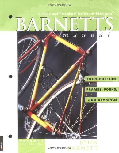 9781931382298: Barnett's Manual: Analysis and Procedures for Bicycle Mechanics (4 Vol. Set)