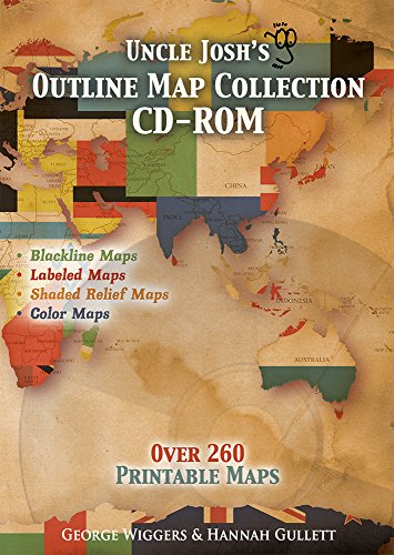 9781931397100: Uncle Josh's Outline Map Book CD-Rom