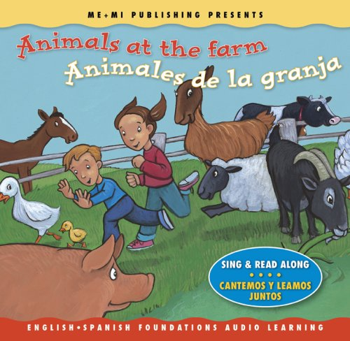 9781931398619: Animals at the Farm / Animales de la granja (Song, Music & Read Along CD) (English and Spanish Foundations Audio Learning Series) (Bilingual) (English ... Foundations) (English and Spanish Edition)