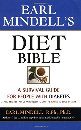 9781931412049: Earl Mindell's Diet Bible: Cut the Carbs and Lose the Fat