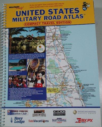 9781931424219: United States Military Road Atlas