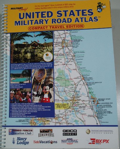 9781931424219: United States Military Road Atlas