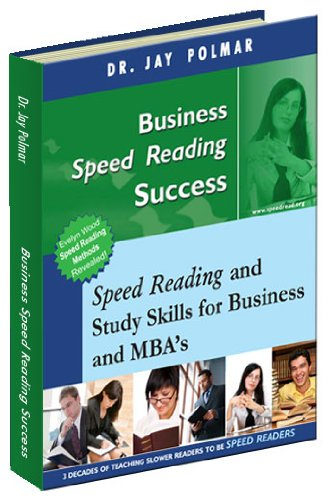 9781931437493: Business Speed Reading
