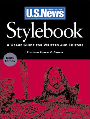 9781931469104: Stylebook: A Usage Guide for Writers and Editors