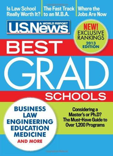 9781931469517: Best Graduate Schools 2013