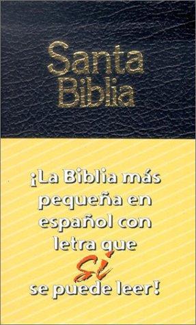 9781931471190: Santa Biblia: La Biblia mas pequena en espanol con letra que se puede leer! (Spanish Edition)