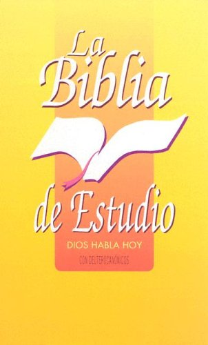 Spanish Study Bible: Sociedades Biblicas Unidas
