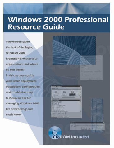 9781931490023: Windows 2000 Server Resource Guide