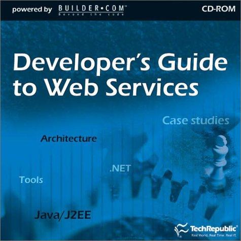 9781931490511: Developer's Guide to Web Services