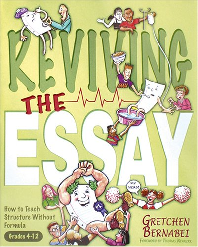 revising the essay gretchen bernabei Gretchen bernabei's 11-minute essay step one develop a starting point prompt this could be a statement such as: we can learn lessons from the people around us gretchen bernabie's 11-minute essay.