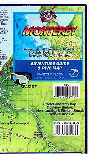 9781931494106: Franko's Map of Monterey, California