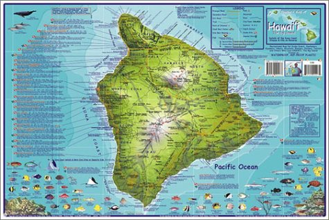 9781931494137 Franko S Dive Map Of Hawaii The Big Island