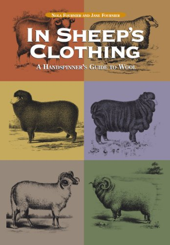In Sheep's Clothing 9781931499385 This highly readable, authoritative reference provides a comprehensive look at the characteristics of wool of 100 breeds of sheep. Essential reading for handspinners, wool growers, and other fiber craft enthusiasts, this guide gives special attention to fleece characteristics, methods of preparation and spinning, and best end use. Everything from baby-soft merino to silky lincoln to sturdy karakul--the full range of nature's miracle fiber--is represented here with expert advice on selecting top-quality fleeces; cleaning wool efficiently and thoroughly; teasing, flicking, combing, carding, and other preparation methods; and spinning and plying a variety of yarn styles. Actual fleece locks are shown in full-size photographs. Knitting, crochet, weaving, and other techniques illustrate the importance of matching wool type to end use.