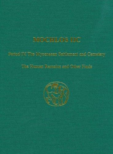 Mochlos IIC: Period IV. The Mycenaean Settlement: INSTAP Academic Press
