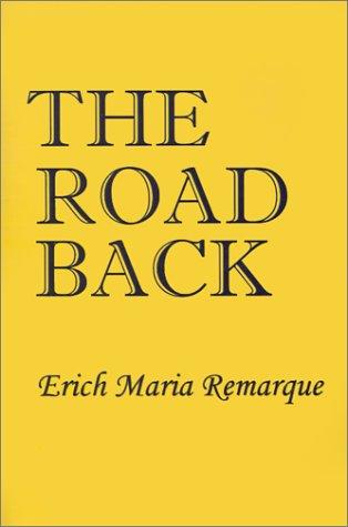 9781931541749: Road Back