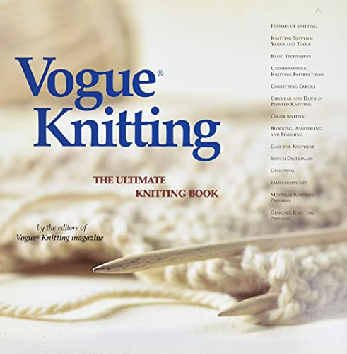 9781931543163: Vogue Knitting: The Ultimate Knitting Book