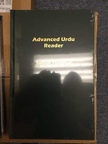 9781931546393: Advanced Urdu Reader