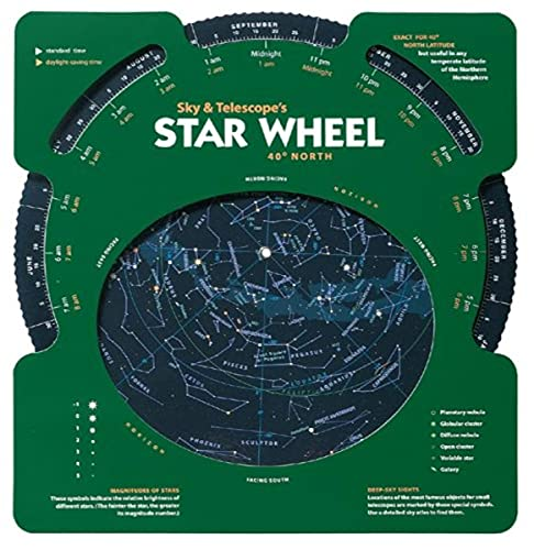 9781931559119: Sky & Telescope's Planisphere 40 North