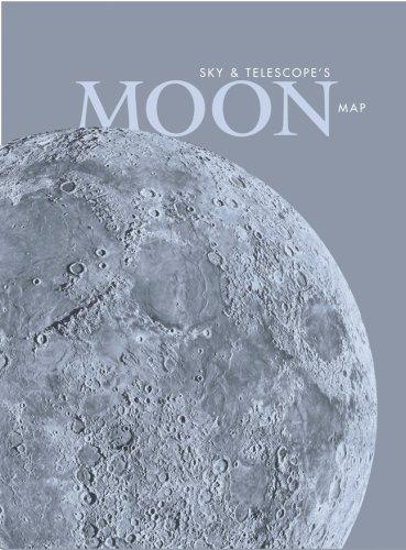 Sky & Telescope's Moon Map, Laminated: Sky & Telescope