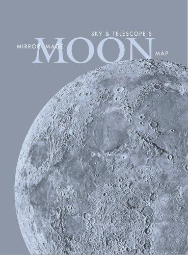 9781931559218: Sky & Telescope's Mirror-Image Moon Map Laminated