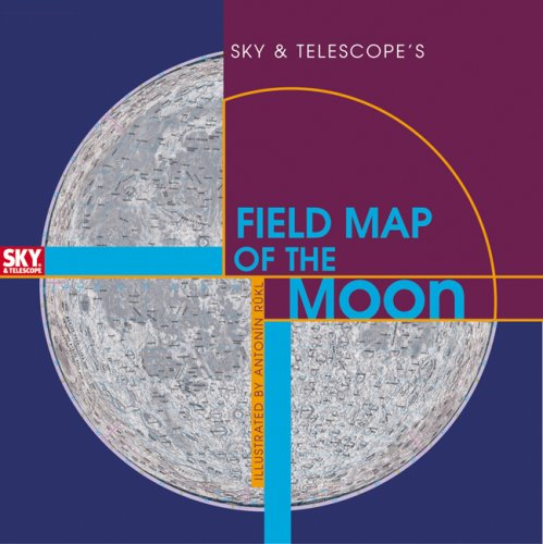 9781931559225: Sky & Telescope's Field Map of the Moon
