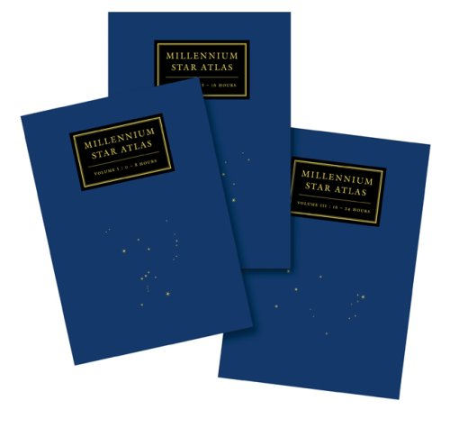 9781931559270: Millennium Star Atlas: An All-Sky Atlas Comprising One Million Stars to Visual Magnitude Eleven from the Hipparcos and Tycho Catalogues and Ten Thousand Nonstellar Objects