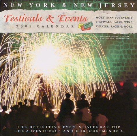 9781931562041 New York Jersey Festivals Events 2002 Calendar And