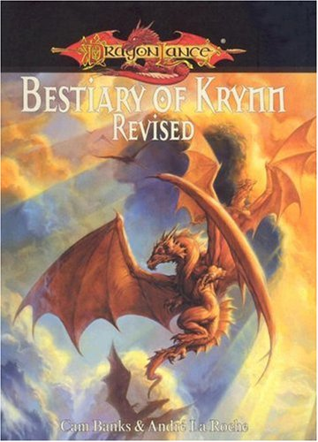 9781931567299: Dragonlance Bestiary of Krynn Revised