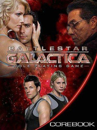 9781931567558: Battlestar Galactica RPG Corebook HC
