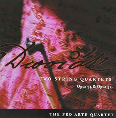 9781931569019: Dvorák: Two String Quartets, Opus 34 & Opus 51