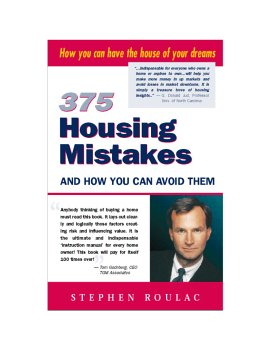 9781931578059: 375 Housing Mistakes and how You Can Avoid Them