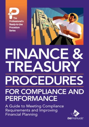 9781931591348: Finance & Treasury Procedures for Compliance and Performance