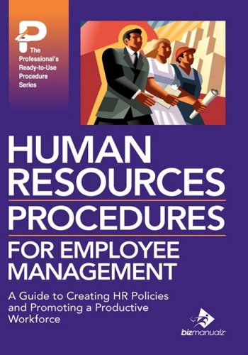 9781931591379: Human Resources Procedures for Employee Management
