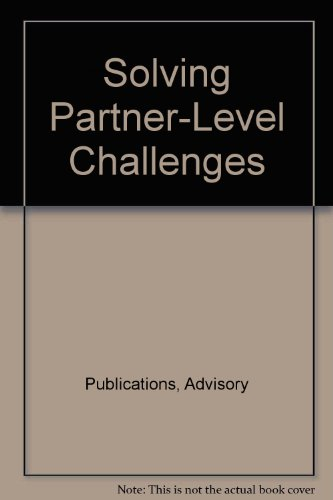 9781931593021: Solving Partner-Level Challenges