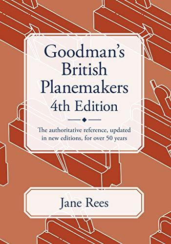 9781931626446: Goodman's British Planemakers
