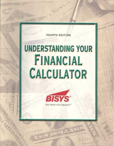 9781931629102: Understanding Your Financial Calculator